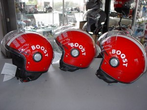 Helm Vespa Model Rood € 49,95