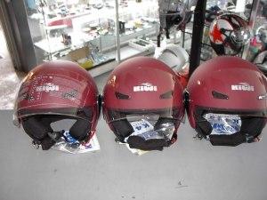 Helm KIWI Bordeaux mat scooterhelm € 48,00