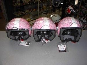 Helm Pastel Roze blinkend € 58,00